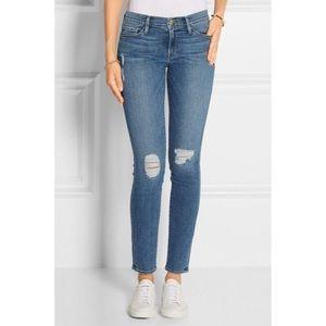 Frame Le Skinny De Jeanne Kittyford Skinny Jeans